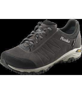 Planika Zelenica Men Air Tex sivi nizki pohodni čevlji