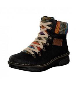 Ženski polvisoki čevlji Rieker 73343-00