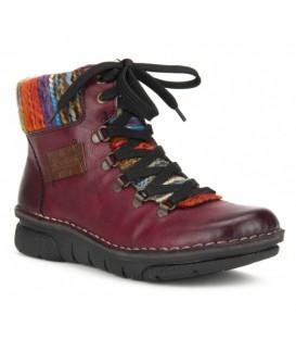 Ženski polvisoki čevlji Rieker 73343-35