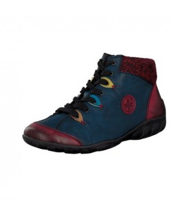 Ženski polvisoki čevlji Rieker L6513-37